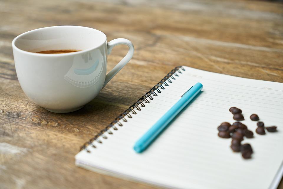 Notebook, Coffee, Course, The Work, Espresso