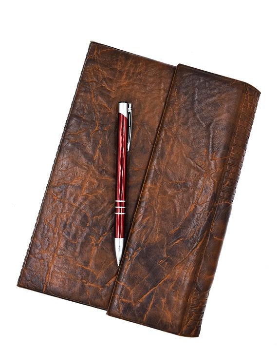 Notebook, Notes, Handbook, Folder, Calendar, Antique