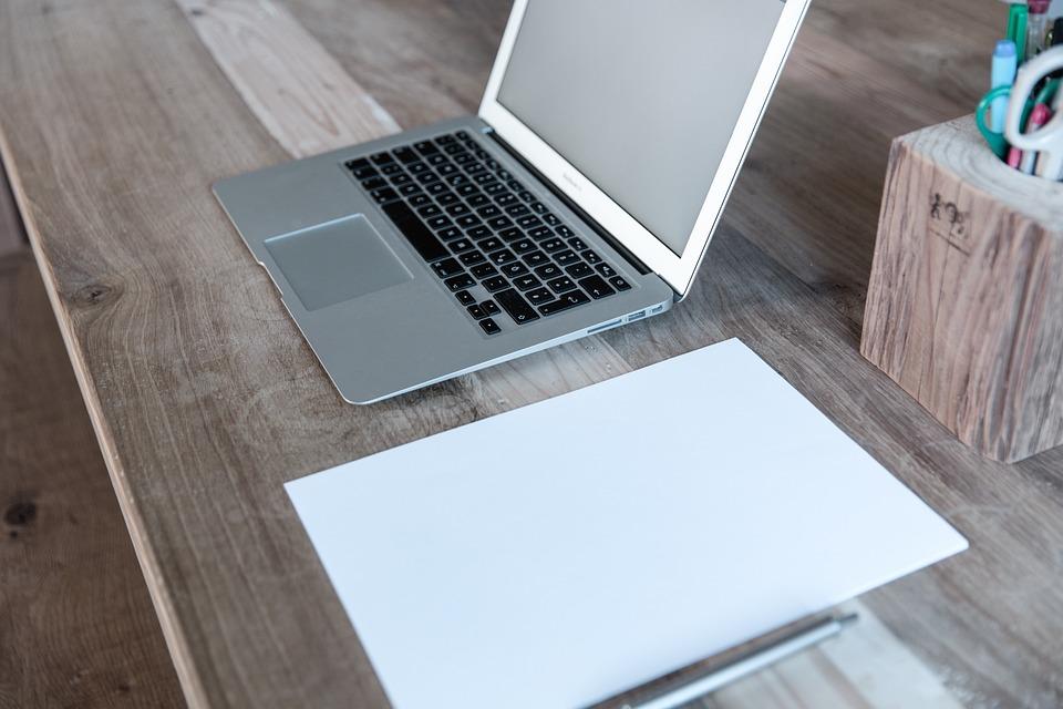 Home Office, Laptop, Notebook, Startup, Web Design
