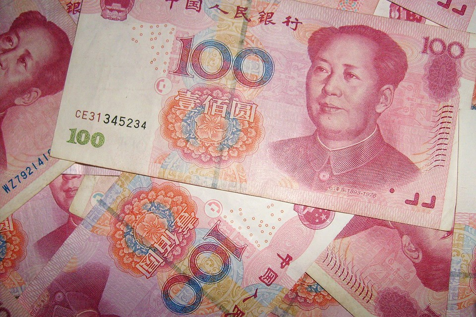 Currency, Chinese, Money, Yuan, 100, Notes, Paper Money