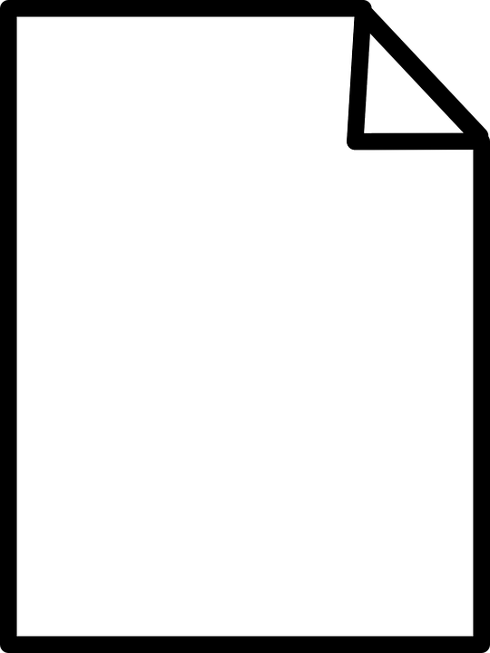 Paper, White, Blank, Notes, Stationery, Writing, Write