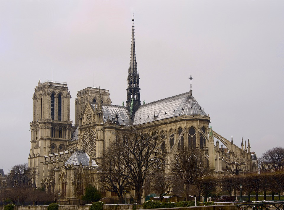 Notre, Dame, Cathedral, Architecture, Church, Buildings