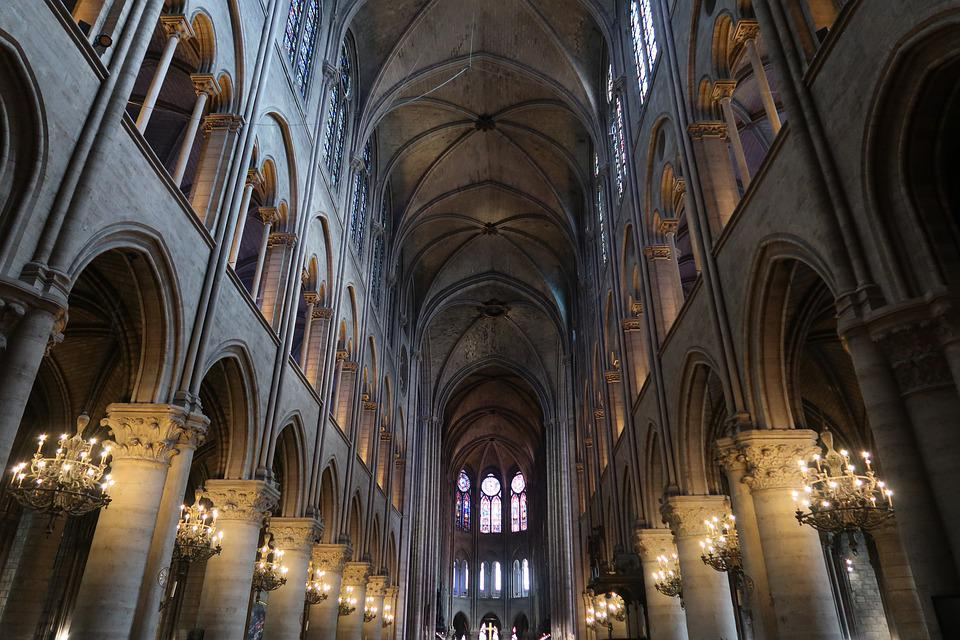 Notre Dame, Church, Paris, France, Cathedral