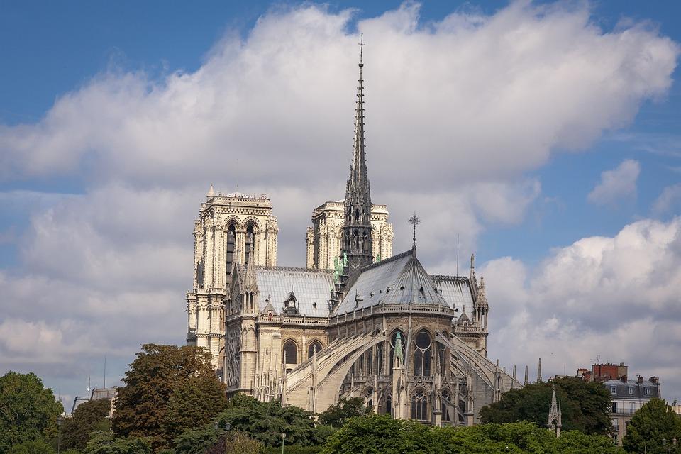 Notre Dame, Cathedral, Paris, France, Religion