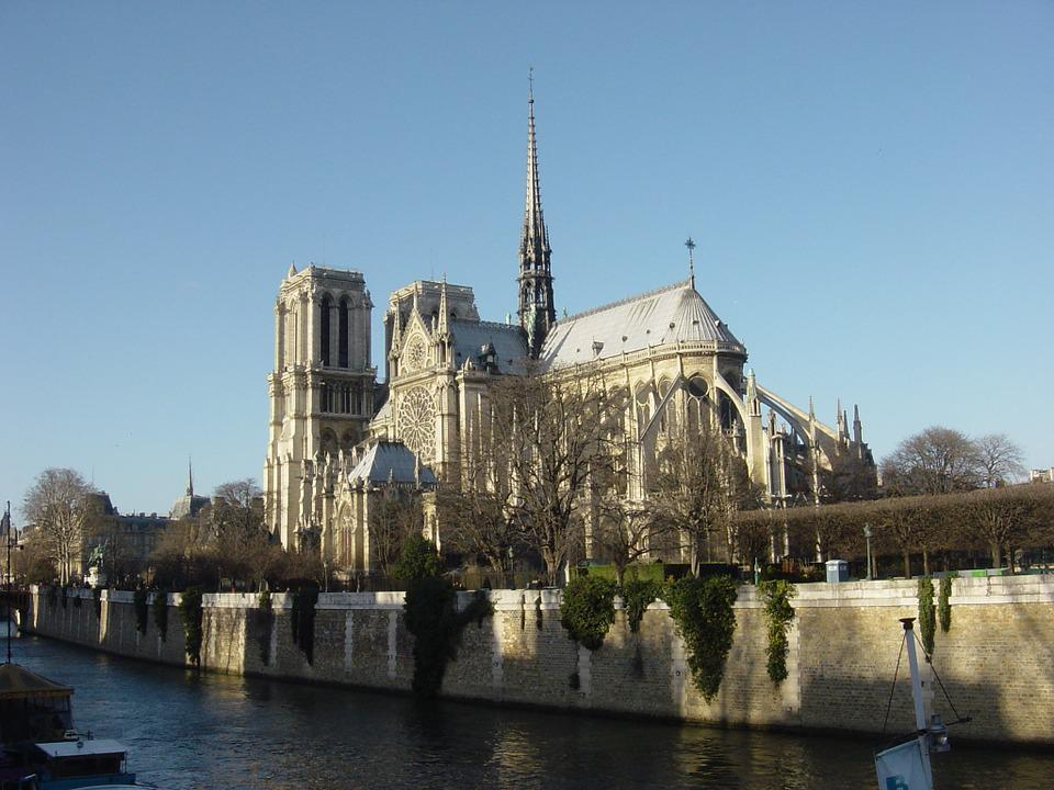 Notre Damme, Cathedral, Notre Dame, Architecture