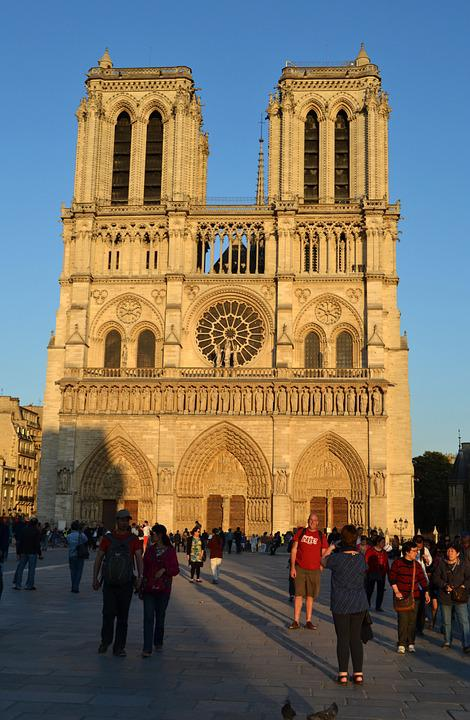 Cathedral, Notre-dam, France, Paris, Monument