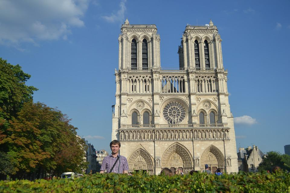Paris, Notredame, Summer