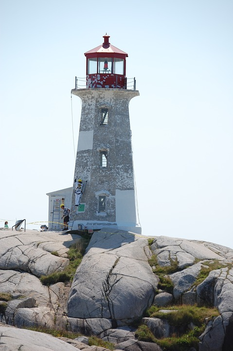 Lighthouse, Peggy's Cove, Nova Scotia Canada