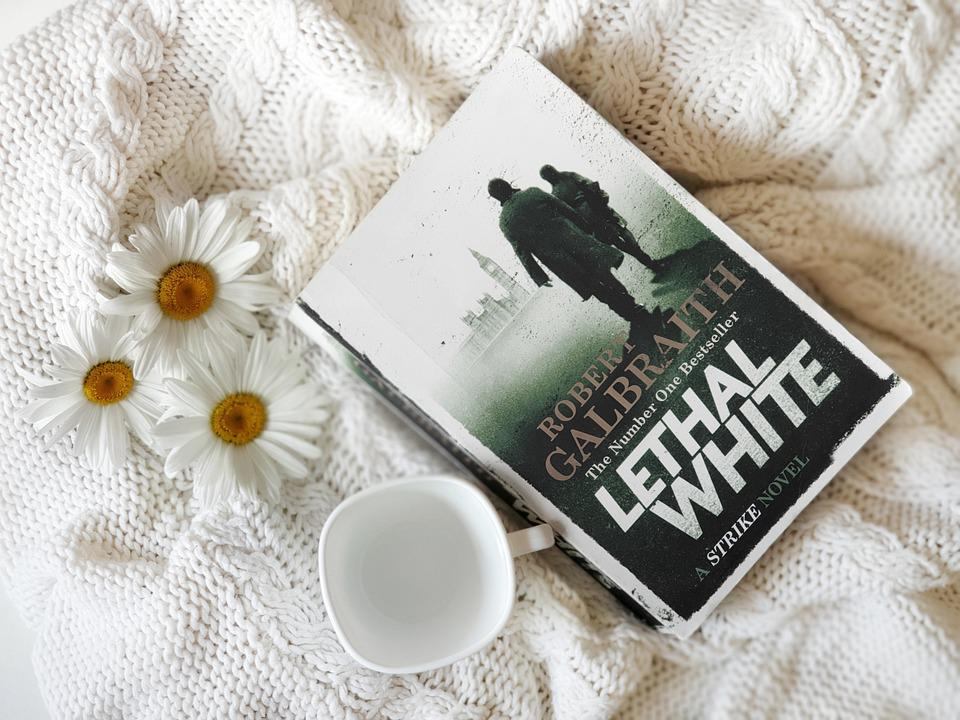 Cozy, Book, Flowers, Cup, Mug, Novel, Read, Reading