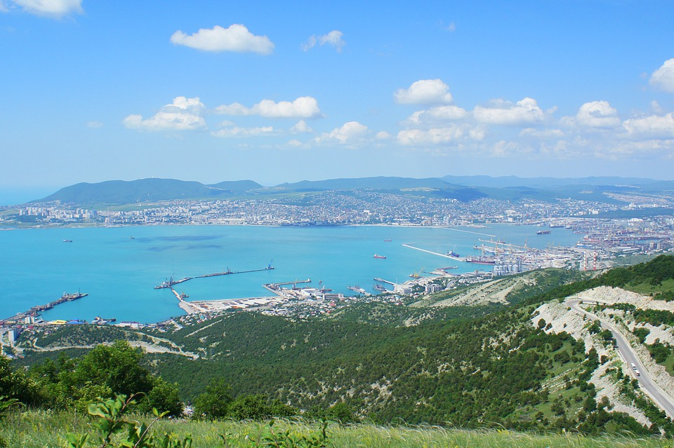 Novorossiysk, Bay, Black Sea, Seven Winds