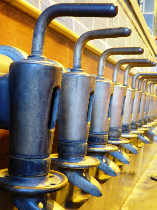 Nozzle, Pourers, Machine, Line, Production, Beer