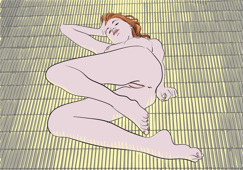Nude, Woman, Floor, Sexy, Body, Girl, Erotic, Naked