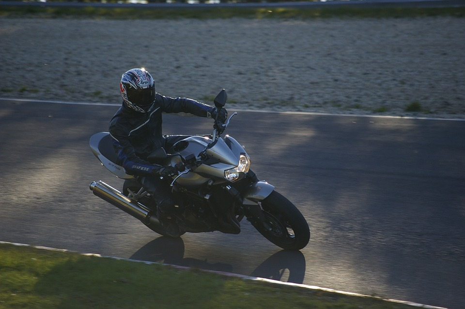 Motorcycle, Nürburgring, Evening