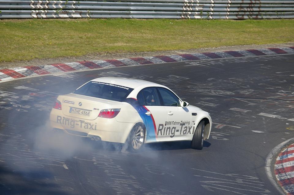 Ring Taxi, Nürburgring, Drift