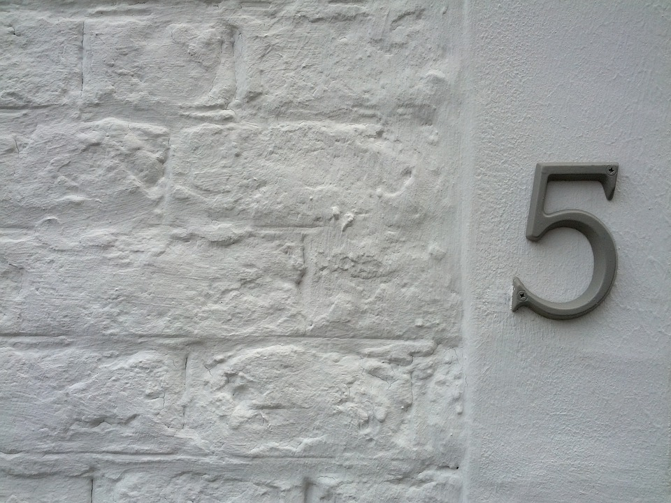 House Number, 5, Number