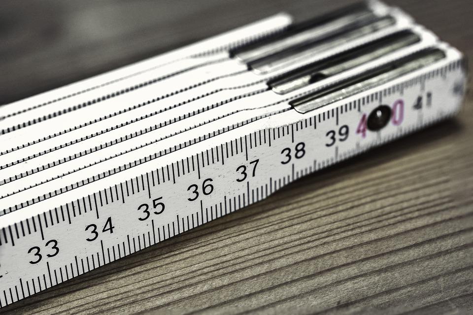 Folding Rule, Bers Scale, Meter, Centimeters, Number