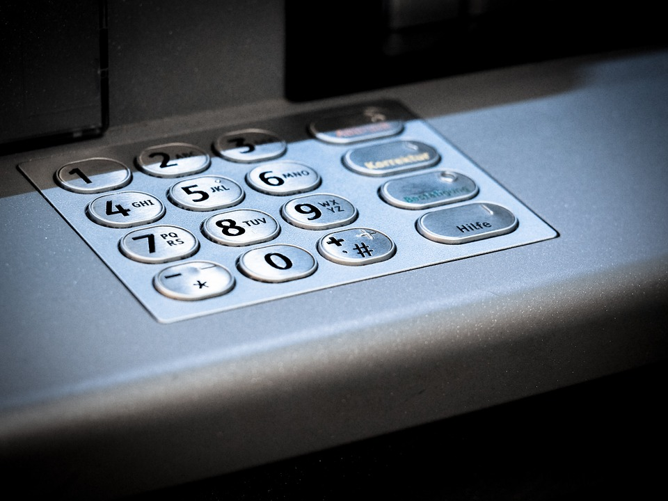 Atm, Keypad, Number, Secret Code, Number Field