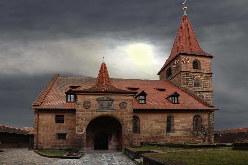 Church, Middle Ages, Fortified Church, Nuremberg