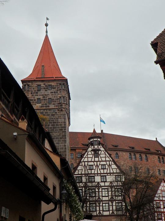 Castle, Imperial Castle, Nuremberg, Building, Tower