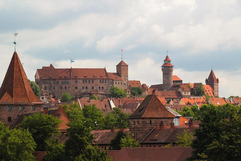 Nuremberg, Castle, Middle Ages, Imperial Castle
