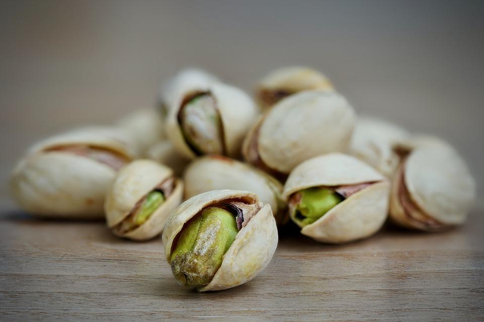 Pistachio, Close-up, Macro, Nuts, Food, Nut