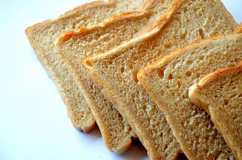Bread, Slices, Bread For Toasting, Food, Nutrition