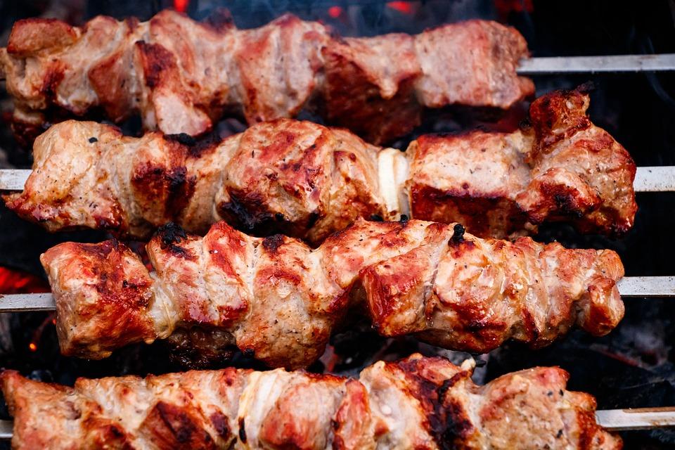 Shish Kebab, Meat, Mangal, Skewers, Nutrition, Frying