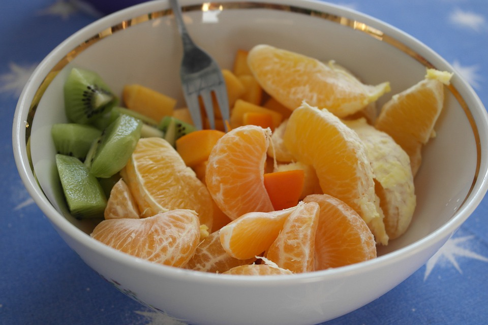 Fruit, Healthy, Nutrition, Kiwi, Orange, Brunch