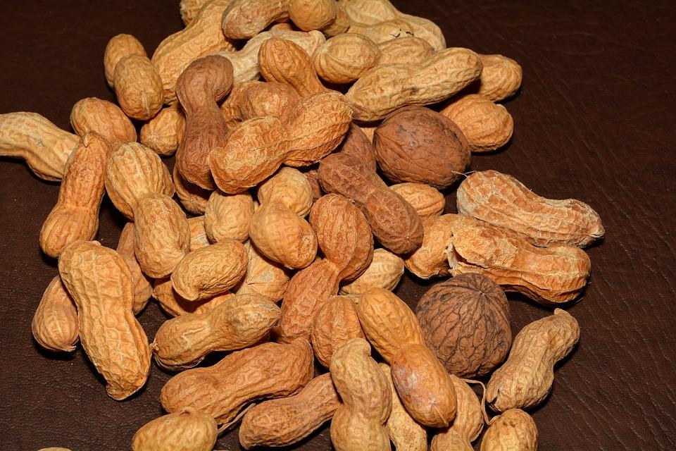 Peanuts, Nuts, Walnuts, Nutrition, Healthy