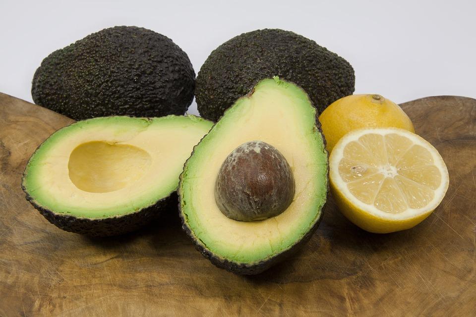 Avocado, Lemon, Food, Vitamins, Nutritious, Healthy