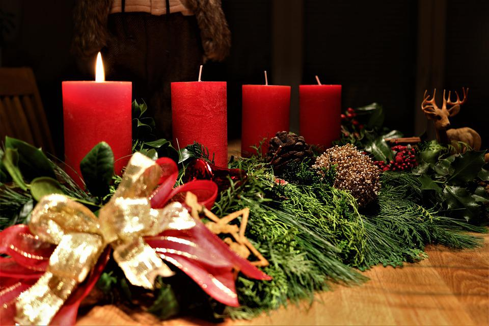 Christmas, Advent, Christmas Time, Candles, Nuts