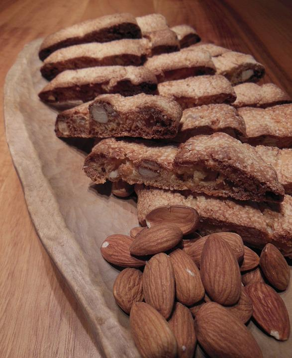 Almonds, Cantuccini, Delicious, Bake, Nuts, Eat