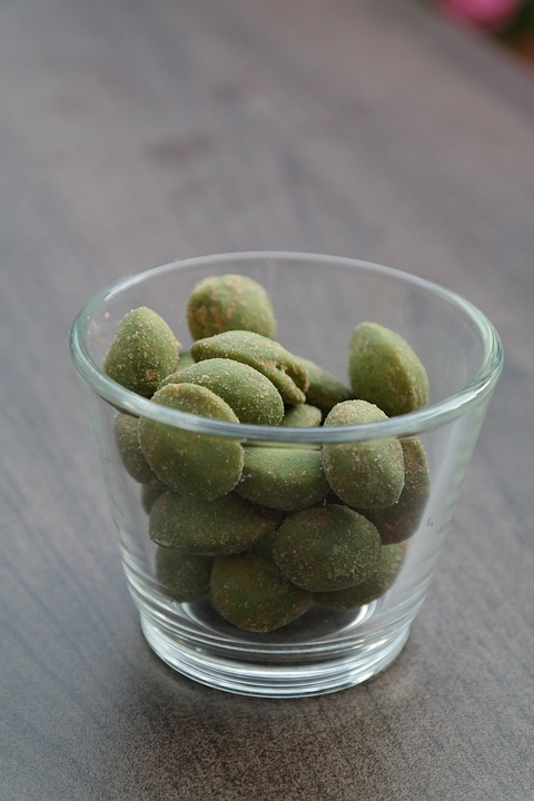 Wasabinuesse, Nuts, Wasabi, Cores, Snack, Knabberzeug