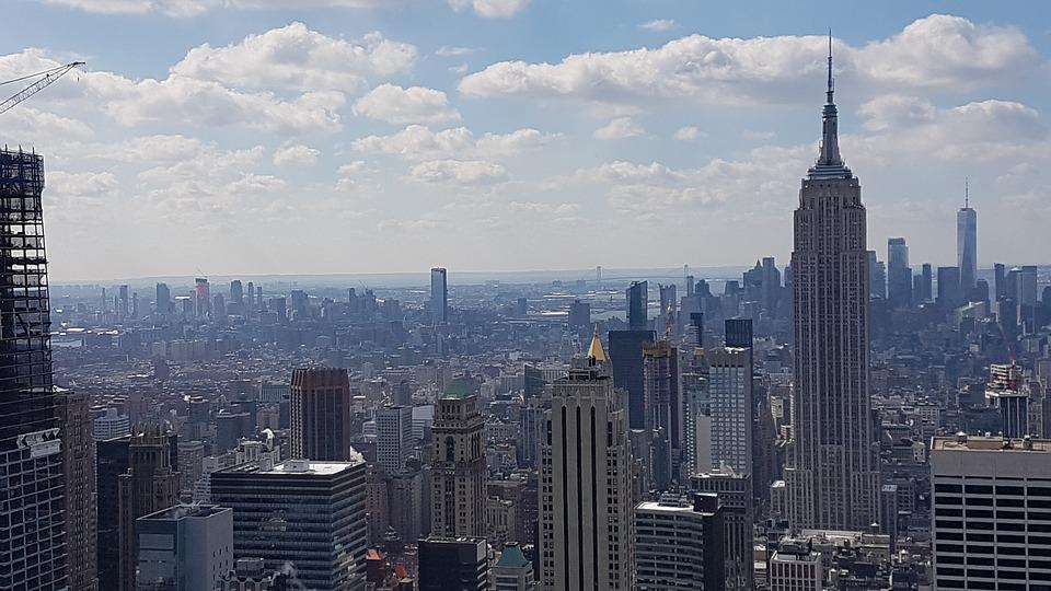 New York City, Nyc, Manhattan, Skyline, Architecture
