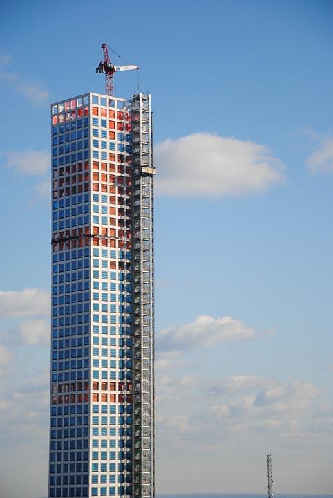 New York, Crane, Building, Usa, Ny, New York City, Nyc