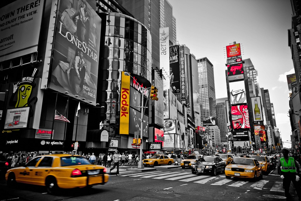 New York, Red, Yellow, Usa, City, Yellow Cab, Nyc, Taxi
