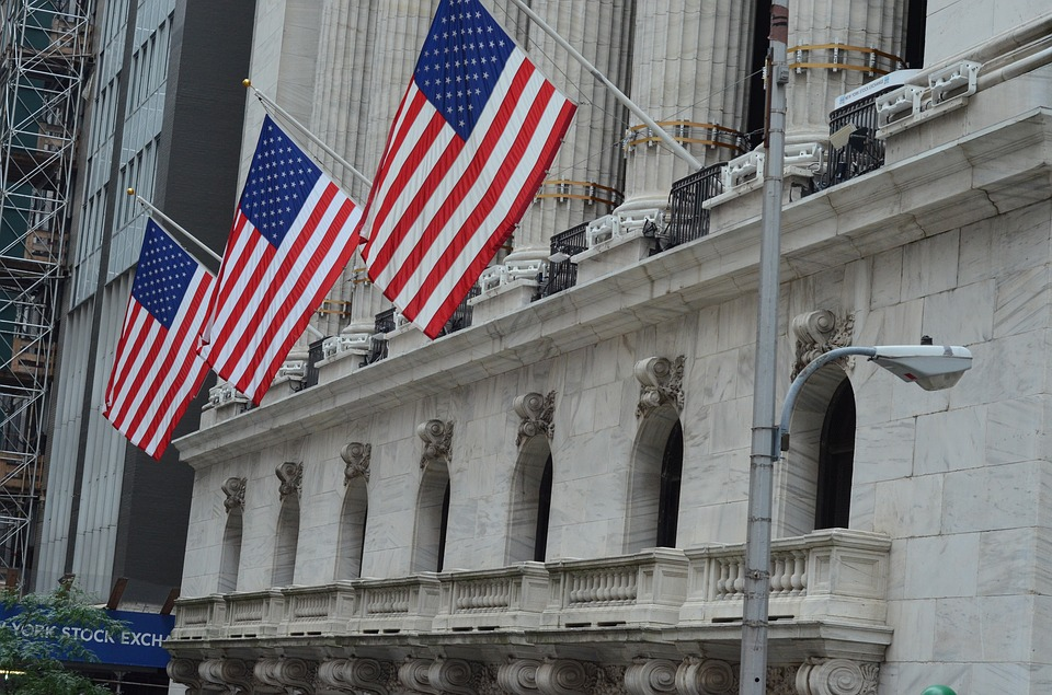 Nyse, Stock Exchange, American Flag