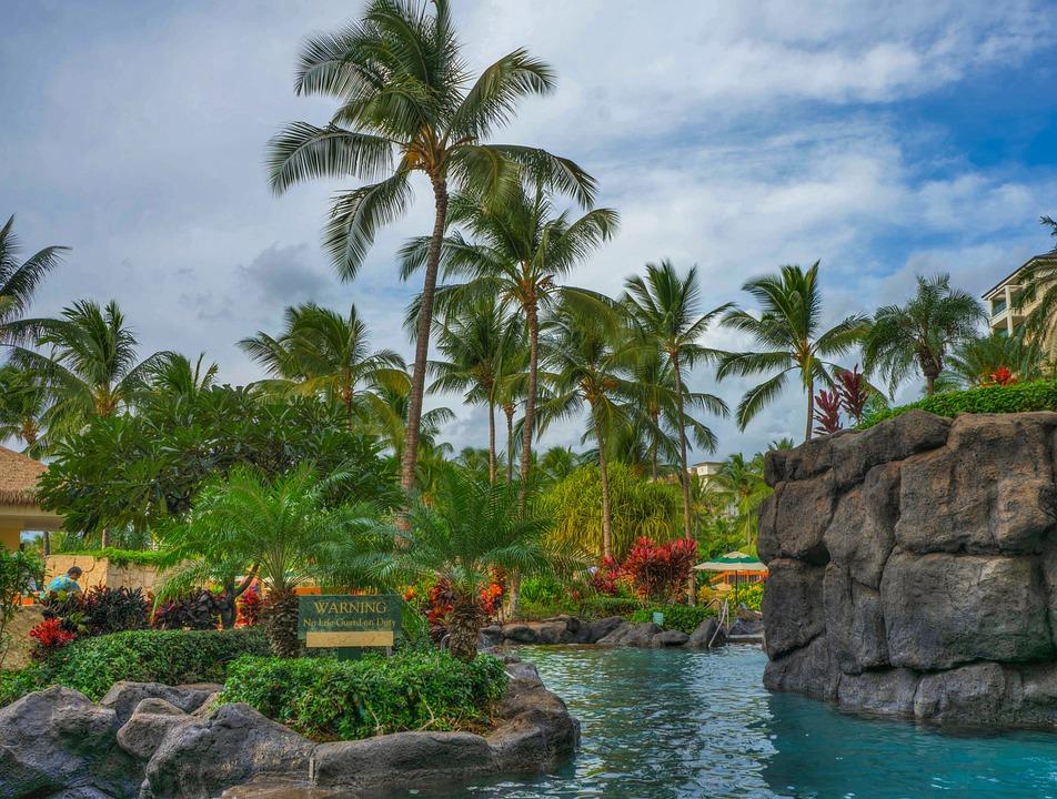 Hawaii, Oahu, Resort, Ko Olina, Marriott, Pool