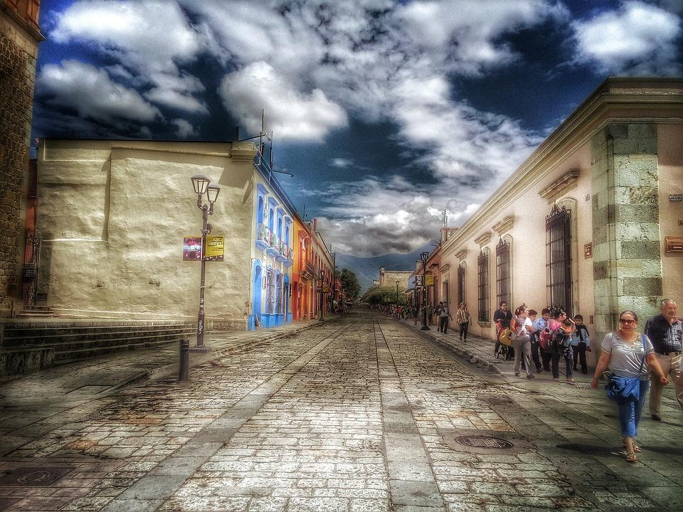 Colonial, Oaxaca, Historic Centre, Street