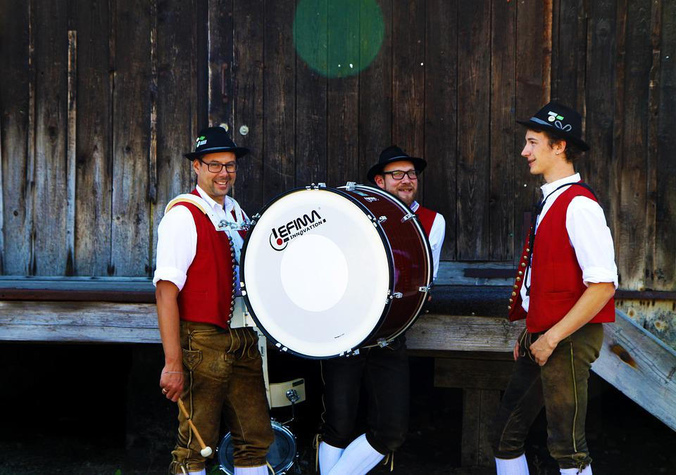 Brass Band, Music Band, Music, Drum, Allgäu, Oberallgäu