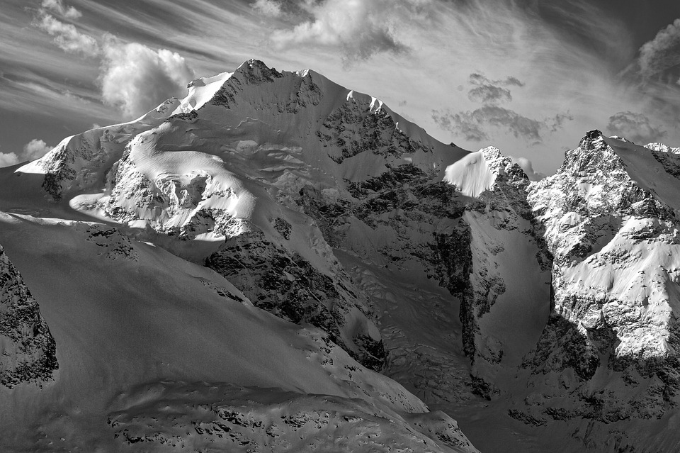 Bernina, Engadin, Oberengadin, Graubünden, Switzerland