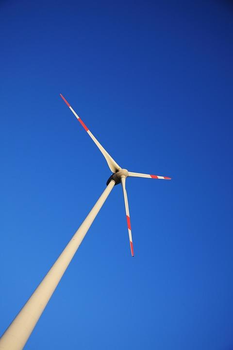 Pinwheel, Wind Energy, Oblique, Wind Power, Energy, Sky