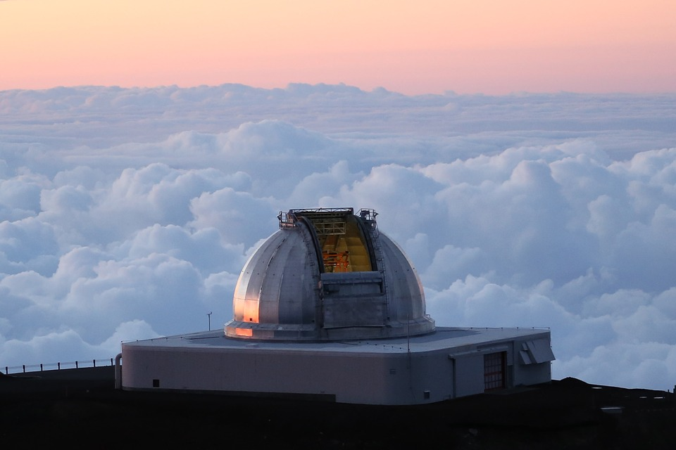 Telescope, Observatory, Astronomy, Sky, Outdoors
