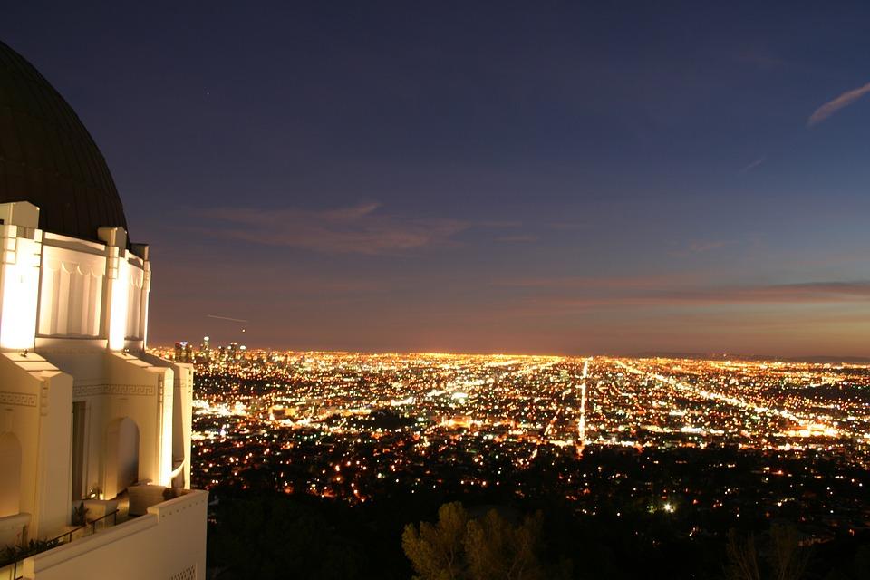 Downtown, Observatory, City, Skyline, Cityscape, View