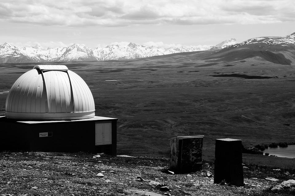 Observatory, Planetarium, Mountains, Snow, Summit