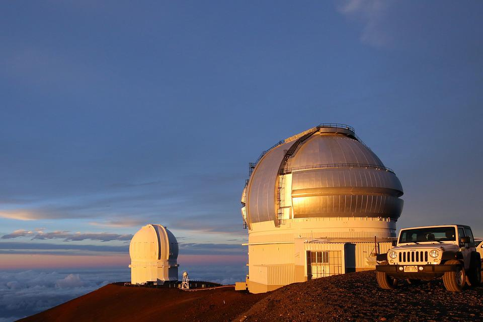 Telescope, Sky, Outdoors, Observatory, Architecture