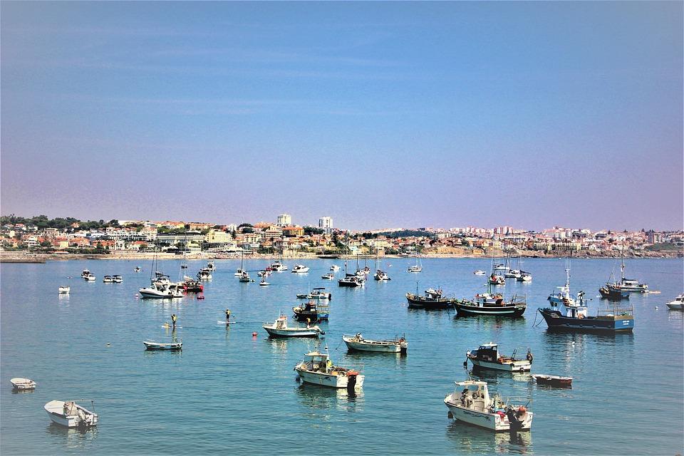 Ocean, Harbor, Port, Boats, Atlantic, Summer, Lisbon