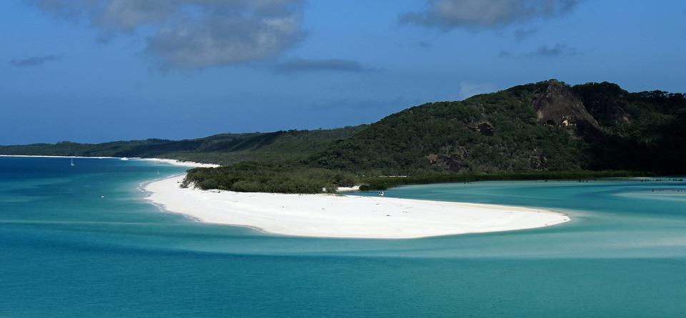 East Coast, White Sand, Outlook, Ocean, Australia