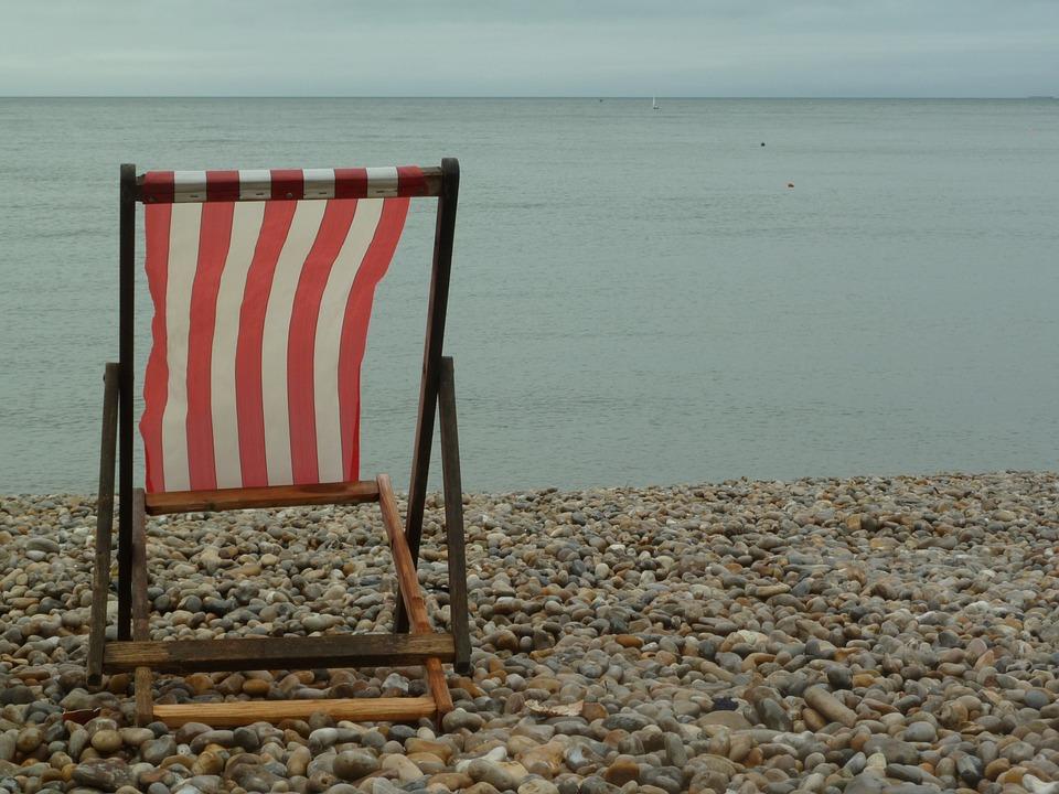 Beach, Seat, Relax, Chair, Sea, Ocean, View, Coast