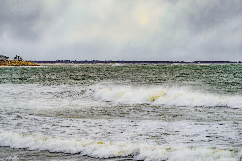 Ocean, Sky, Sea, Beach, Water, Clouds, Nature, Coast